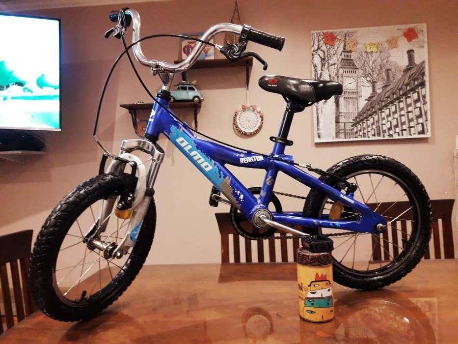 Bicicleta Bmx Olmo Rerktor Aluminio
