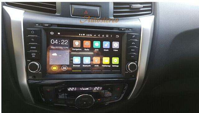 NISSAN FRONTIER NP300 ESTEREO CENTRAL MULTIMEDIA STEREO CON ANDROID, GPS, BLUETOOTH