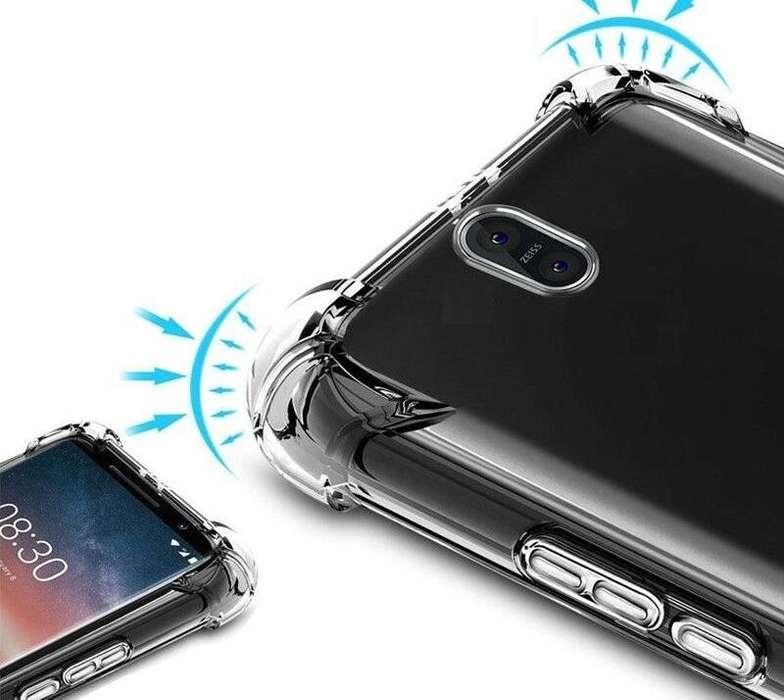 Case protector de silicona para Nokia modelo 2 / 3 , 5 / 6 , 2.1 / 3 .1, 5.1 / 6.1