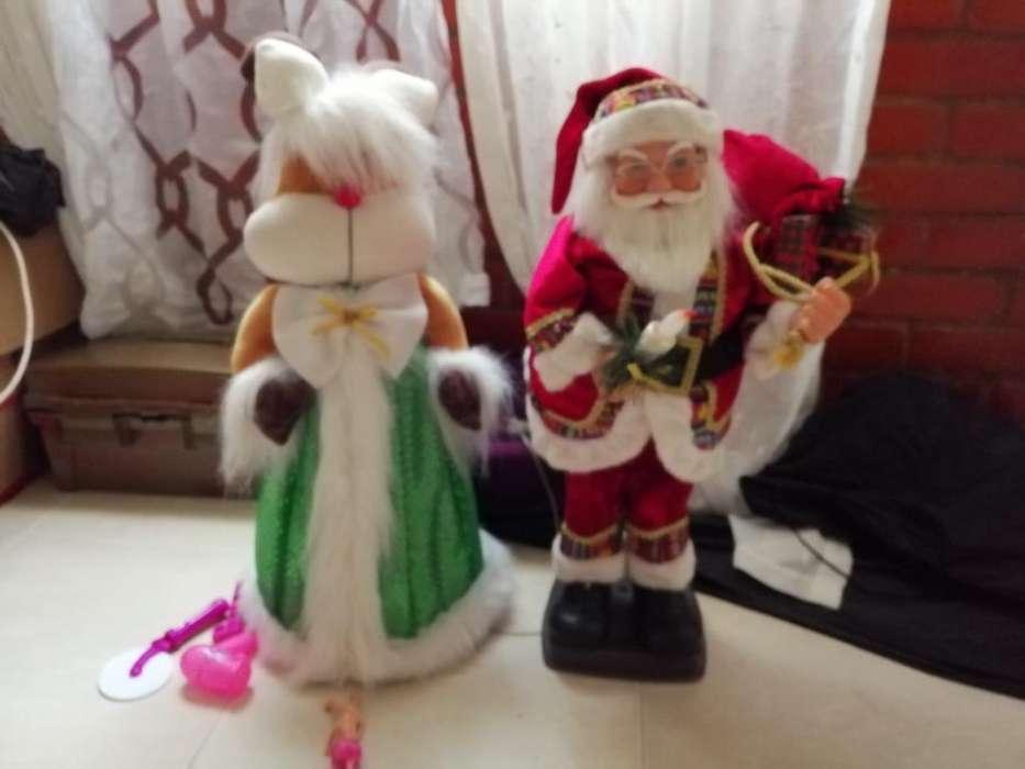 Árbol Y Muñecos de Navidad