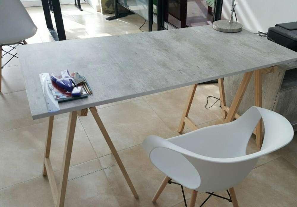 Moderno <strong>escritorio</strong> Simil Concreto