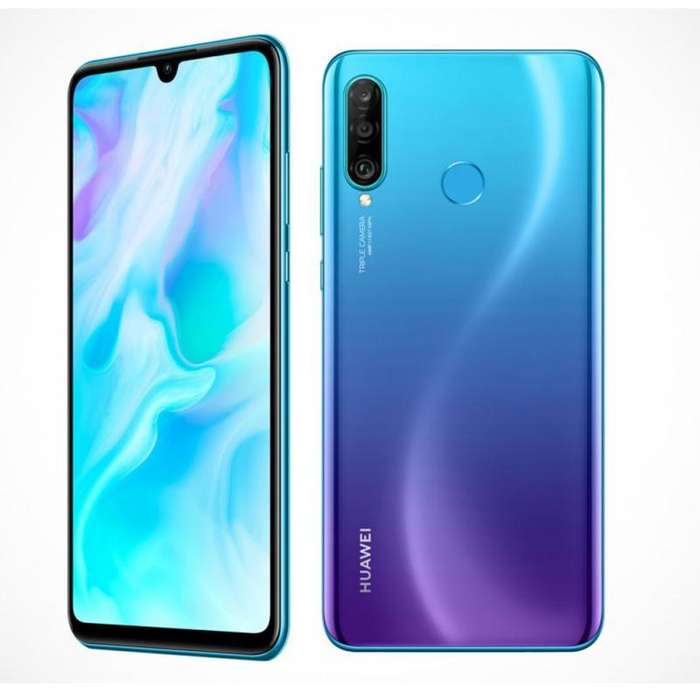 Celular Libre Huawei P30 Lite 128gb 32mp 4ramestuche Nuevo