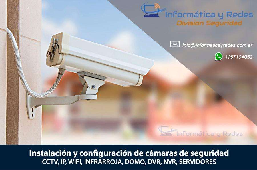 INSTALACION, CONFIGURACION Y VENTA DE CAMARAS DE SEGURIDAD CCTV IP DVR NVR