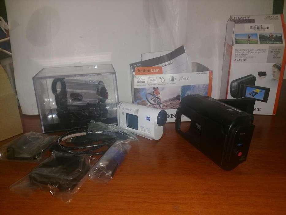 Camara SONY - Action Cam AS200V con Wi-Fi y GPS HDR-AS200V / HDR-AS200VB / HDR-AS200VT / HDR-AS200VR