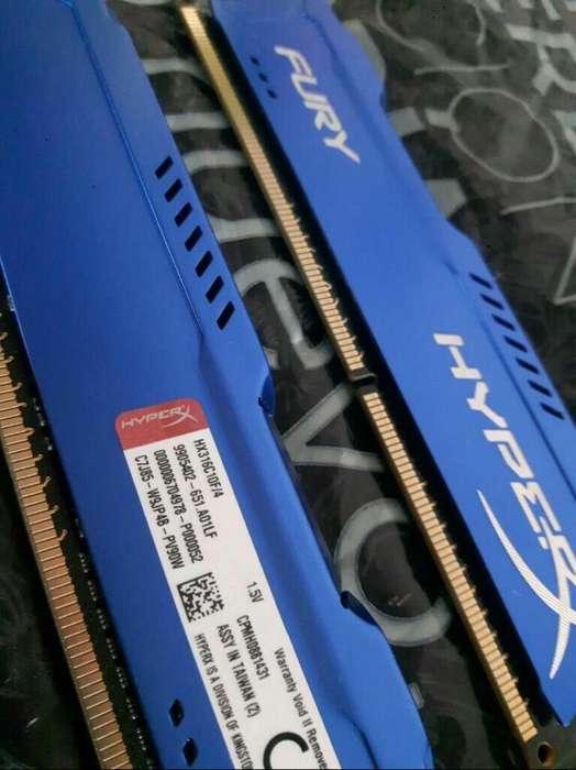 Memoria Ram Ddr3 4gb Hyperx Fury