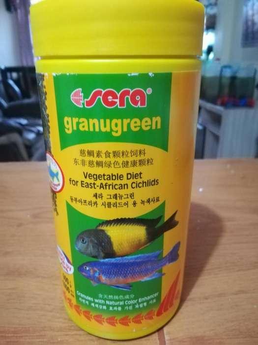 Alimento Sera Granugreen para Peces X 600gr