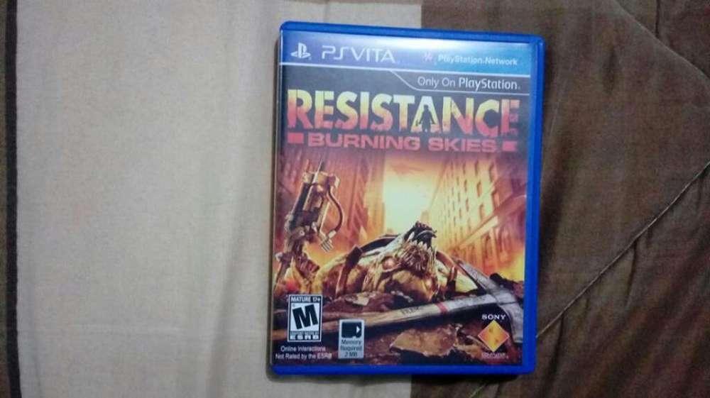 Videojuego Resistance Psvita