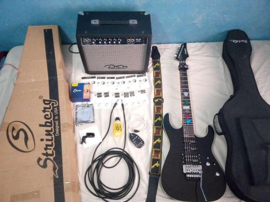 Combo Profecional Guitarra Eclectrica