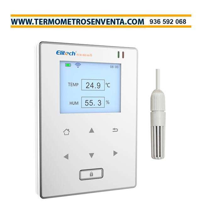 Registrador O Data Logger En Tiempo Real, Con Sensores De Temperatura y Humedad (RCW-800WIFI)