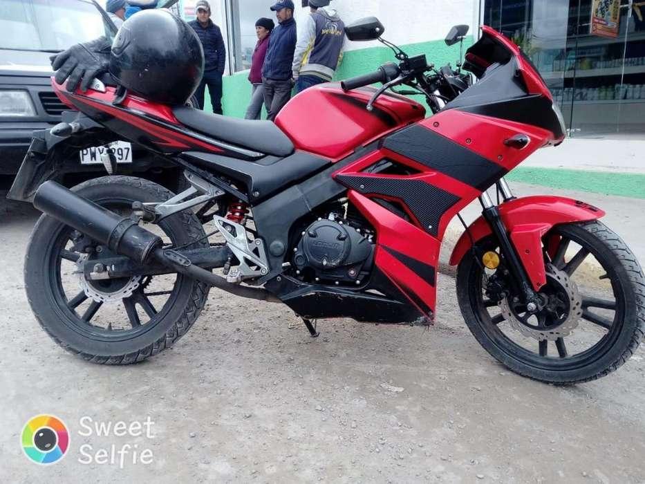 Vendo Moto Loncin 2012