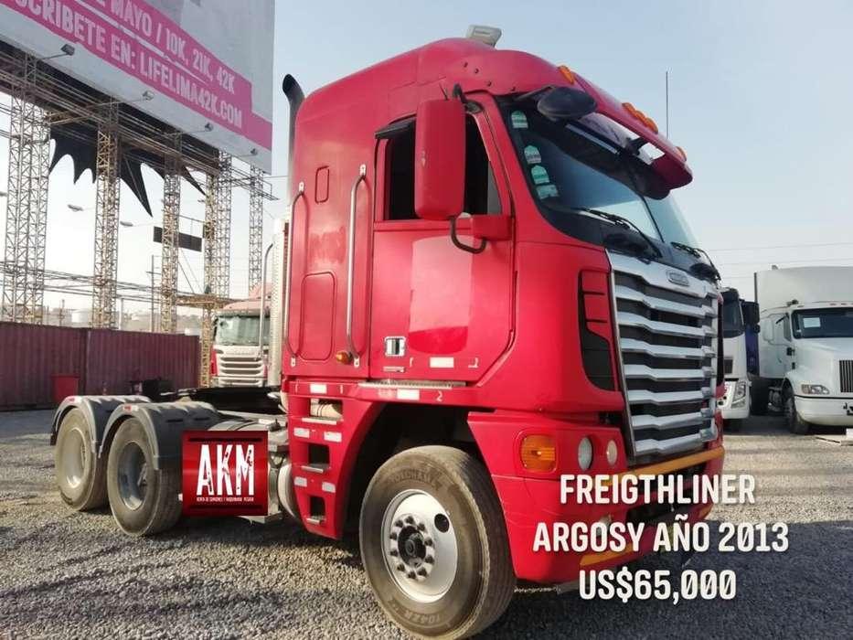 Tracto Freigthliner Argosy 2013.Hasta 12 meses para pagar