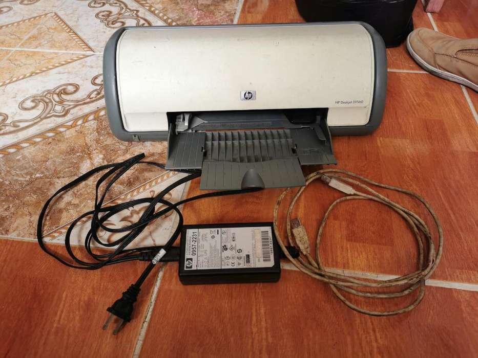 Impresora Hp Deskjet D1560 sin Cartuchos