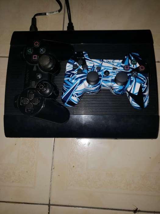 Play 3 Super Slim 320gb 12 Juegos Digita