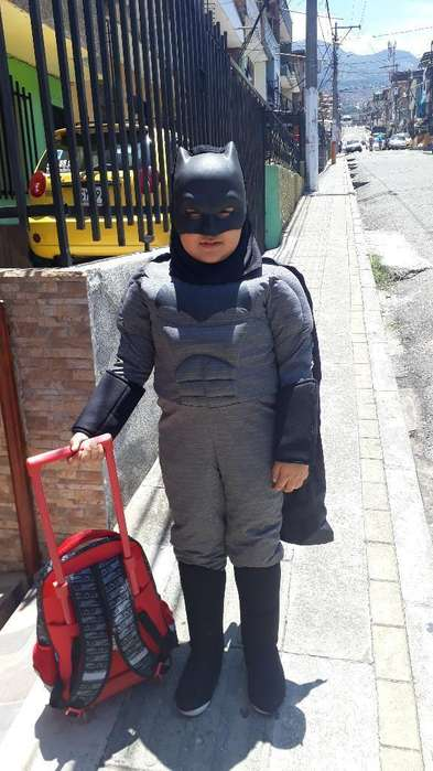 Disfraz Batman Acolchadito