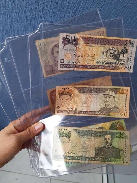 Coleccion Billetes Acetatos