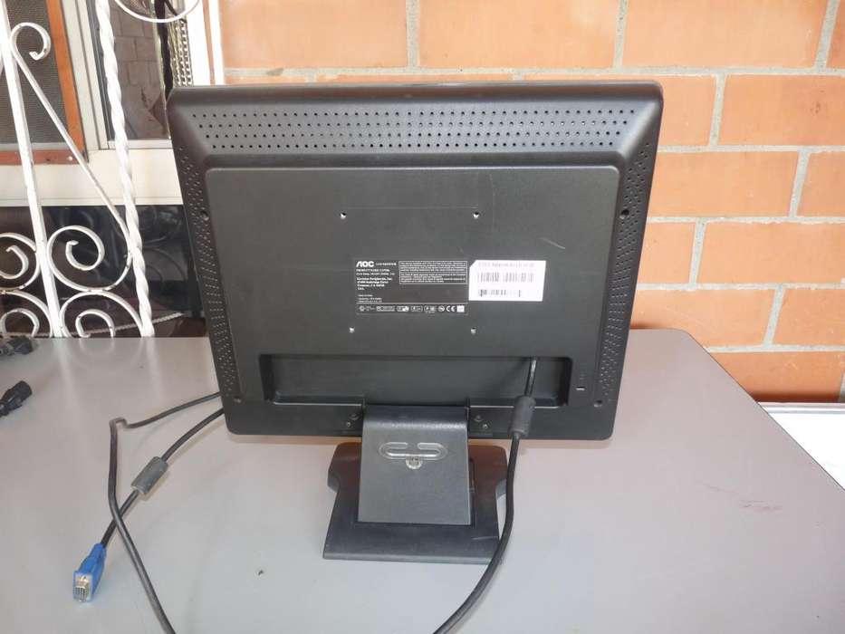 monitor remate en buenas condiciones funciona perfectamente