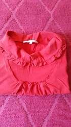 Remera de algodón roja. Talle 3. Grande.