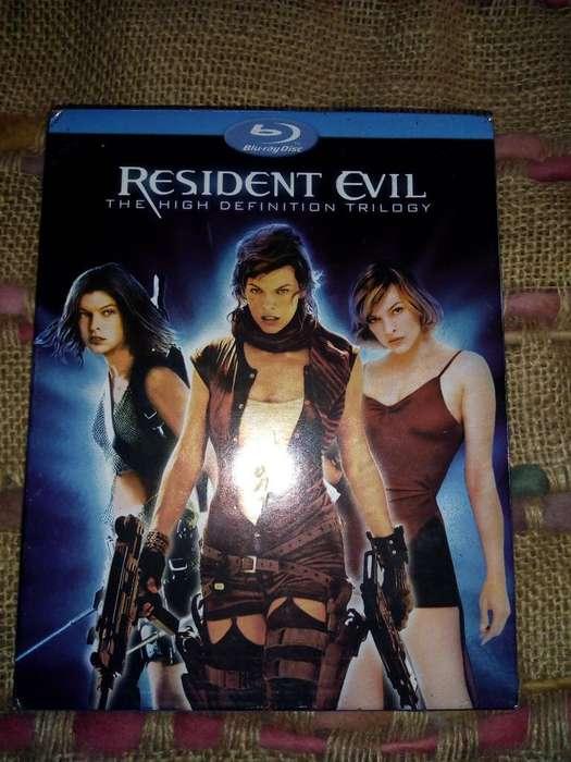 Blu-ray Trilogia Resident Evil