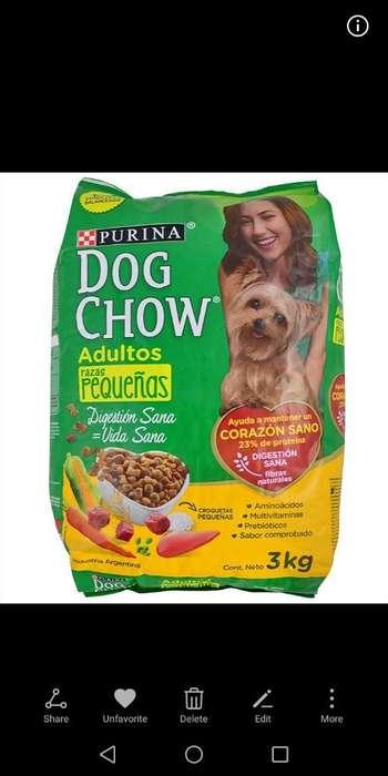 Dog Chow 3 Kg Adultos Razas Pequeñas