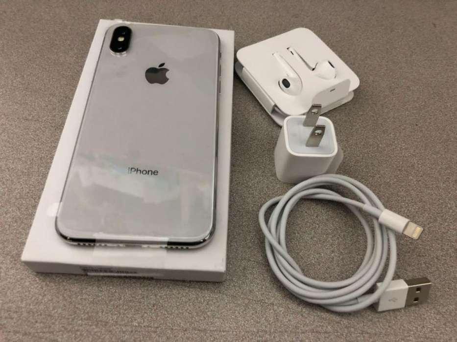 IPHONE X 64GB BLANCO LIBRE CON TURBO SIM ACCESORIOS ORIGINALES ESTADO 10/10 GARANTÍA 6 MESES Y FACTURA LEGAL