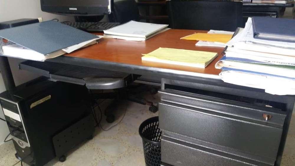 <strong>escritorio</strong> Metalico Y en Madera