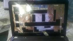 Carcasa Laptop Compaq Cq42 Color Negra