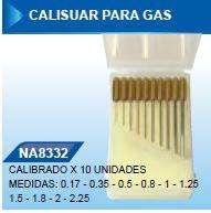JUEGO Calisuar Para Gas X 10 Unidades
