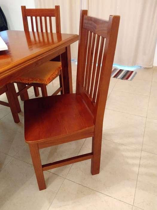 Vendo Mesa con 4 <strong>silla</strong>s
