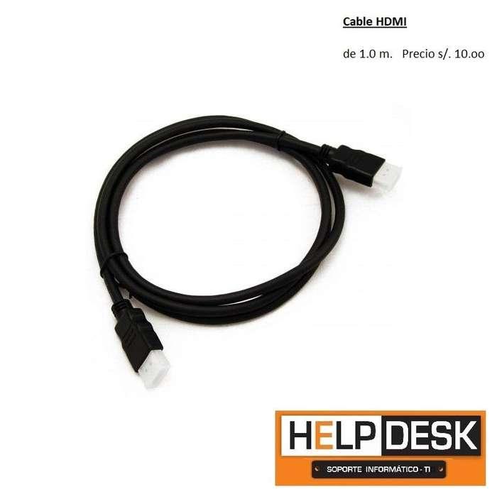 Cable HDMI desde s./ 10