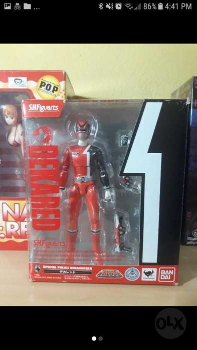 Power Rangers Red Ranger Spd Figura