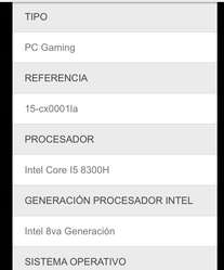 Hp Gamer Cx0001