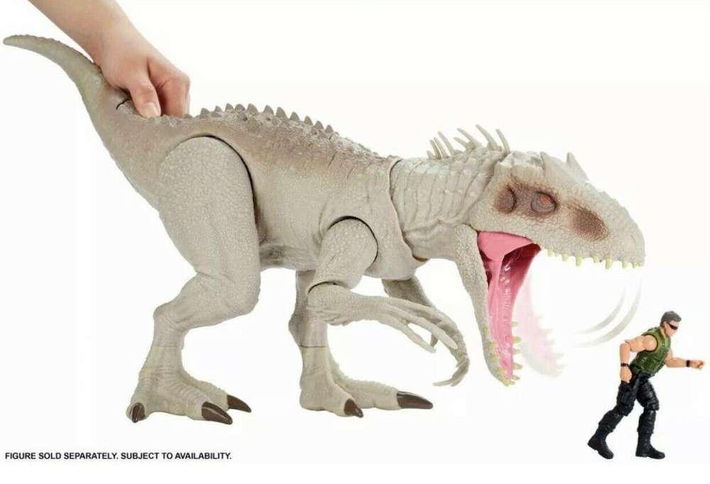 Jurassic World destruir 'n devorar indominus Rex
