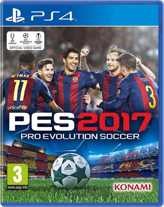 Pes Pro Evolution Soccer 2017 Ps4 Nuevo Sellado