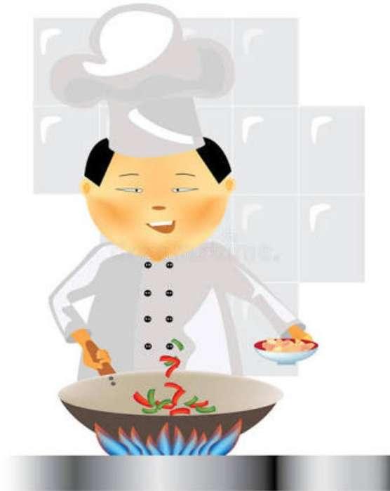 Cocinero Chaufero