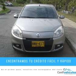 Renault Sandero Dynamique 2014 ¡Págalo Fácil en Cuotas Bajas y Con Respaldo!