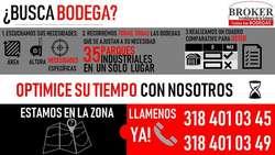 Arriendo/Venta DE BODEGAS EN MOSQUERA MOSQUERA  MOSQUERA 297-444