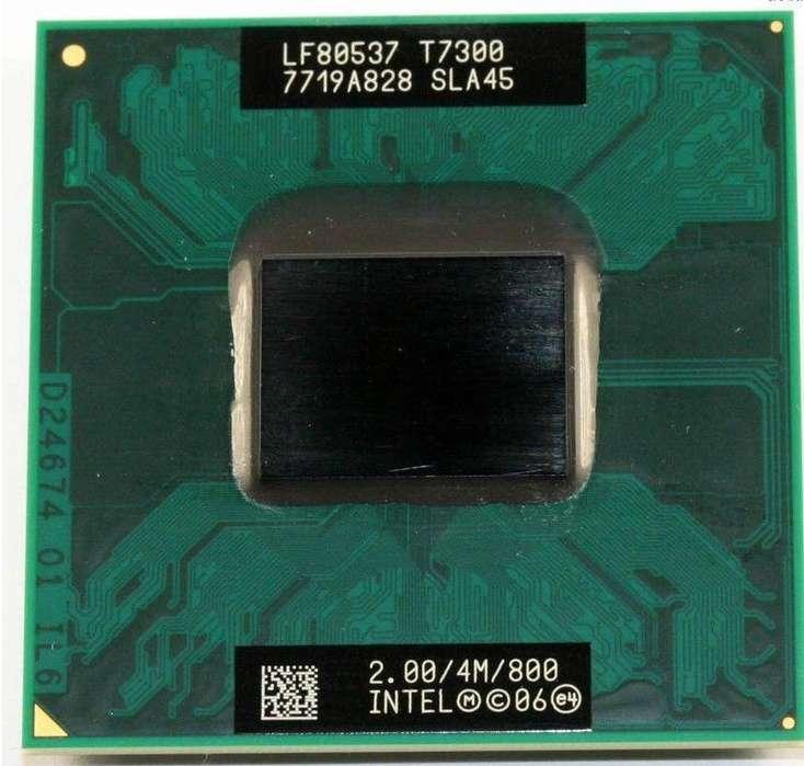 Intel Core 2 Duo T7300 2 Ghz procesador de doble núcleo 4M 800MHz CPU