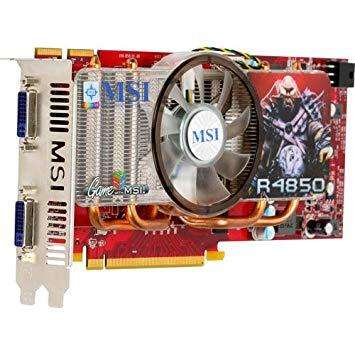 vendo placa de video msi r4850 impecable