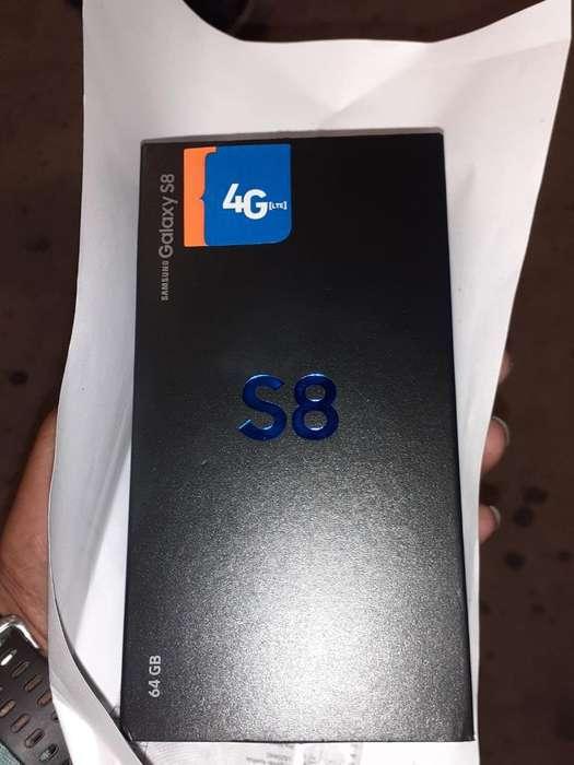Vendo Samsung Galaxy S8 Nuevo, O Uso.