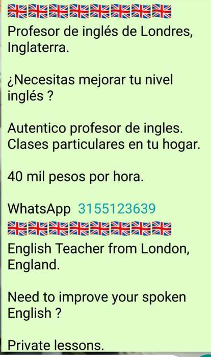 Authentic English Classes.