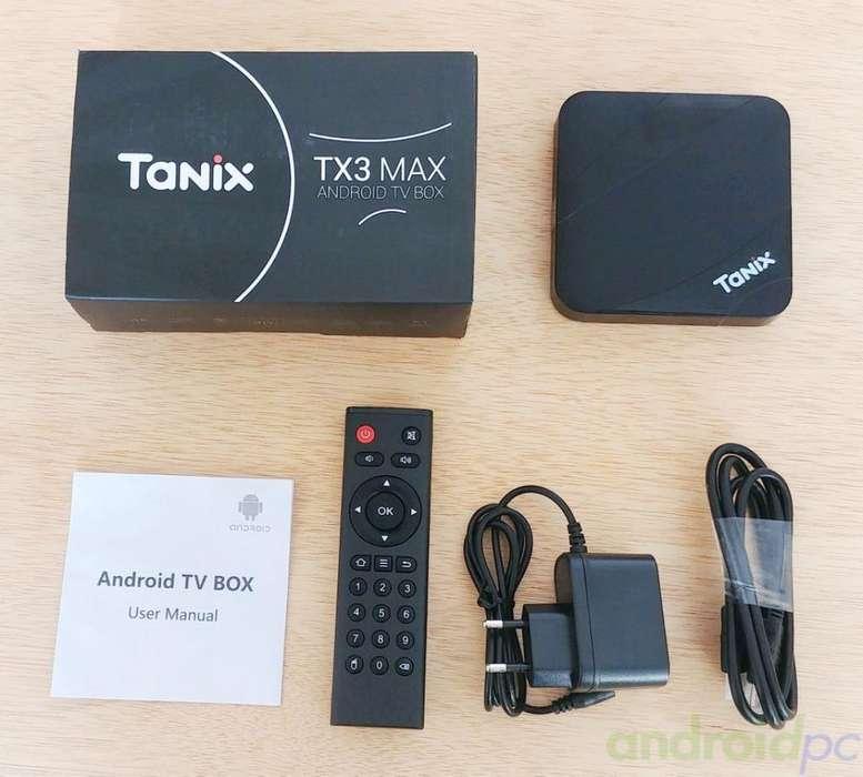 Tv Box Tanix Tx3 Max Nuevo