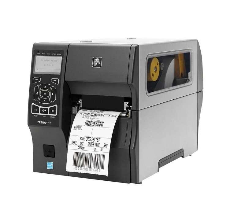 Impresora Industrial Zebra ZT410, de Etiquetas