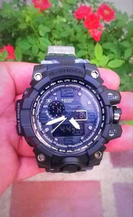 Reloj Casio G Shock GWG 1000 dc, Estilo Camuflado, Nuevo, Importado ....