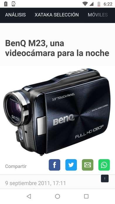 Video camara BenQ