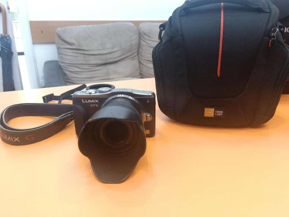 Camara Fotos Lumix Gf6 14 42mm Video