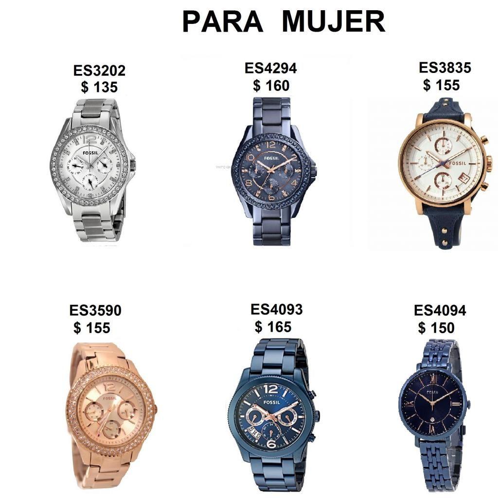 2992bd88073f Relojes Fossil para Mujer Varios Modelos Originales en caja - Guayaquil