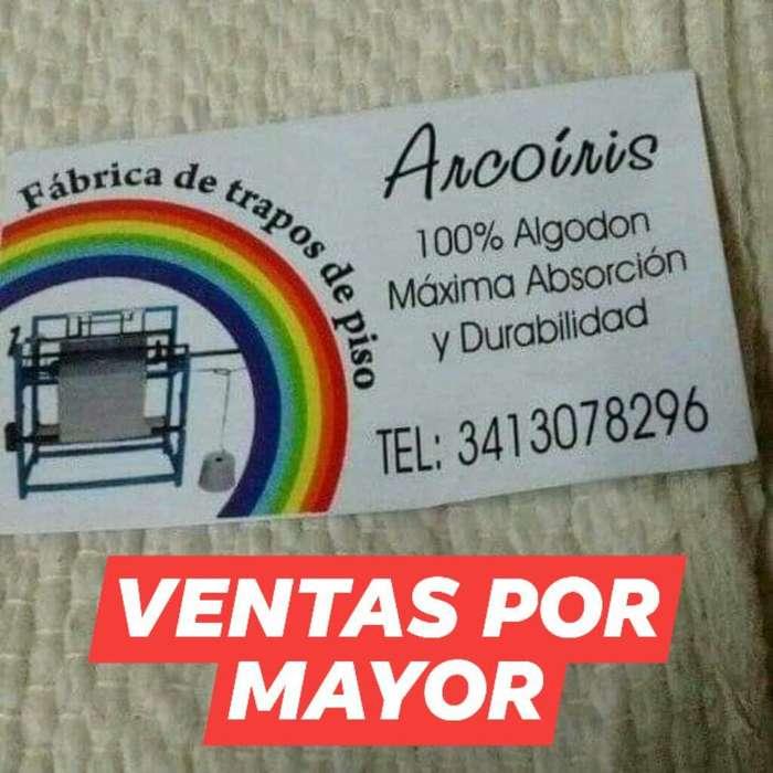 Trapos de <strong>pisos</strong> Arcoiris Edén