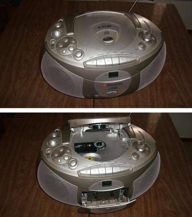 Radiograbador Am Fm Daihatsu Estereo Digital Ccd <strong>mp3</strong> En Exce