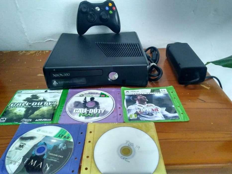 Venta Xbox 360 Slim Excelente Precio