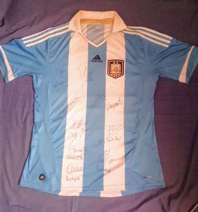 Camiseta de Argentina 2013 Firmada